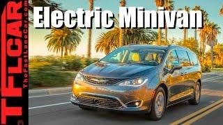 2017 Chrysler Pacifica Hybrid Review: First Plug-In Hybrid Minivan