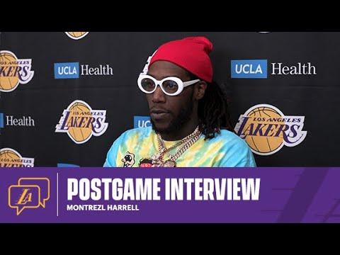 Lakers Postgame: Montrezl Harrell (2/22/21)