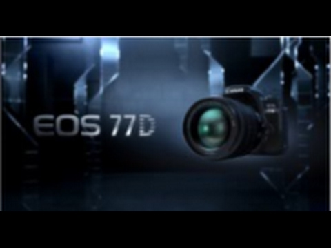 video Canon EOS 77D Body