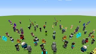 So I Trapped 100 Minecraft Players in a Superflat World