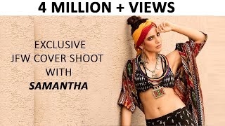 Samantha Gorgeous Photoshoot | JFW Cover PhotoShoot with Samantha | #Samantha | JFW Magazine