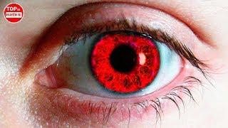 Nếu Bạn Có 1 Trong Những Màu Mắt Kỳ Lạ Và Hiếm Gặp Này Hãy Coi Chừng | Top 10 Huyền Bí