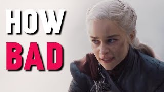 Is the Final Season Really That Bad? (Game of Thrones)