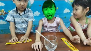 Learn Color With Boom Candy and Rainbow Chuppa Chups Color Family Song For Children