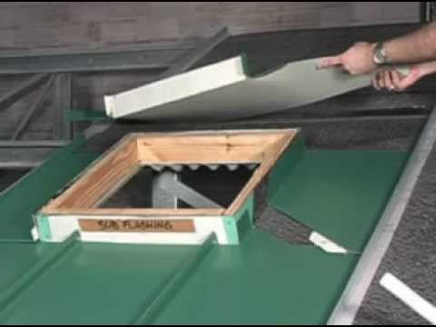 How to Install & Properly Flash a Square Penetration on a Standing Seam Metal Roof
