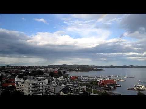 Rainbow in Kristiansand, Norway