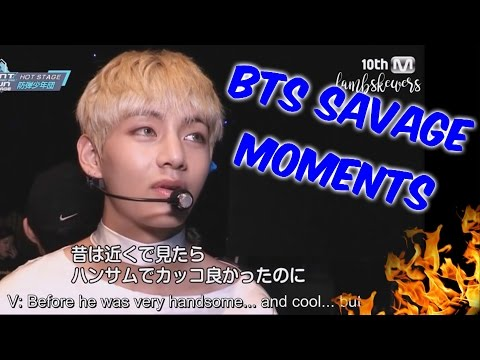 BTS Savage Moments #1