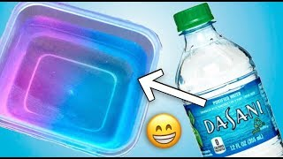 HOW TO MAKE SLIME FROM WATER
