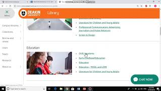 How to find and use online sources through Deakin Library (EBSCOHOST & Google Scholar)