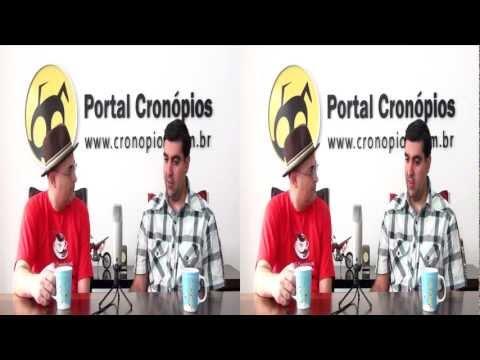 Videocast Cronópios com Rafael Spaca