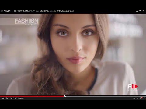 GIORGIO ARMANI The Courage to Say Sì ADV Campaign 2015 by Fashion Channel