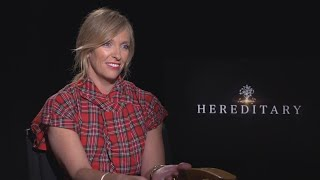 Hereditary Star Toni Collette Admits She Can't Watch Scary Movies (Full Interview)