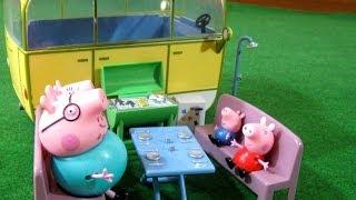 Peppa Pig Camper Van Playset from Bandai
