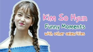 [Eng Sub] Kim So Hyun Funny Moments with Other Celebrities Part 1