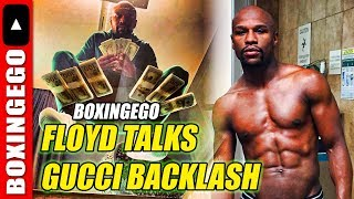 Floyd Mayweather (NOT DONE YET) Reacts To Gucci Support - Backlash in Letter