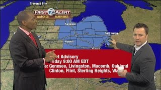 Spike from Mojo in the Morning crashes Keenan Smith's 7 First Alert Weather forecast