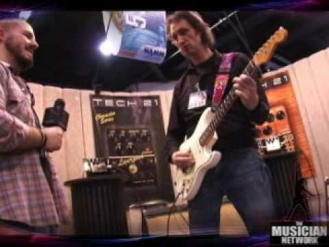 TMNTV - NAMM 2008 - Tech21 [pt 1 of 2]