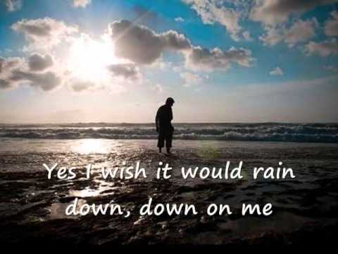 I Wish it Would Rain Down ( with Lyrics )  - Phil Collins