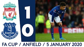 FA CUP HIGHLIGHTS: LIVERPOOL 1-0 EVERTON
