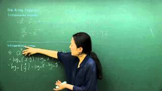 [SAT Subject Test Mathematics Level 2] Exponential and Logarithmic Functions