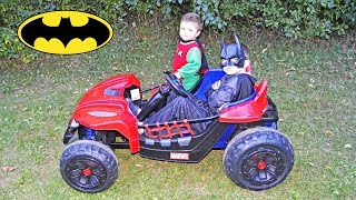 Batman and Robin Save the Day YouTube Kid Friendly Superhero Video