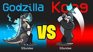 GODZILLA vs KING KONG in Among Us