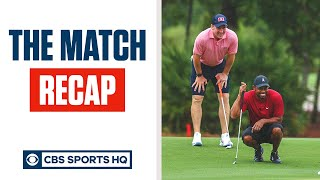 The Match Recap: Tiger Woods vs. Phil Mickelson, Tom Brady vs. Peyton Manning | CBS Sports HQ