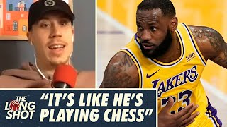 Duncan Robinson on LeBron's Brilliance as a Basketball Strategist   The Long Shot Podcast