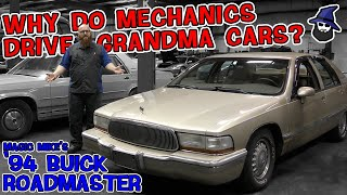 Why do mechanics buy 'grandma' cars? CAR WIZARD explains their lure with this '94 Buick Roadmaster