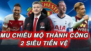 """Tin Chuyển Nhượng MU: Man Utd Có Thêm 2 """"SIÊU TIỀN VỆ""""... Arsenal chia tay Aubameyang I OVER9"""