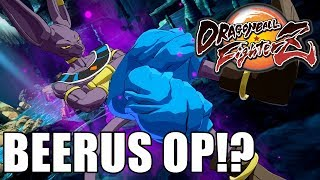 Best Beerus Player I've Ever Seen!!! Dragon Ball FighterZ