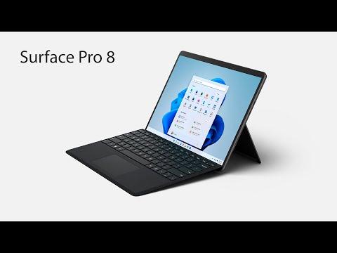 Microsoft анонсировал Surface Pro 8