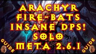 Diablo  Arachyr Firebats Build