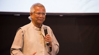 Nobel Prize winner Muhammad Yunus' vision: no poverty, no unemployment, no carbon emissions.