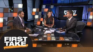 Stephen A., Max disagree with Bleacher Report's list of overhyped NBA players | First Take | ESPN