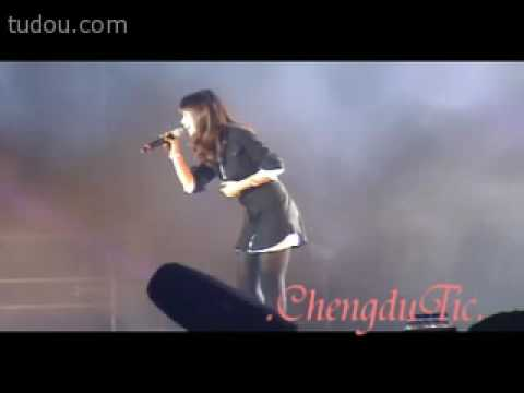 [ 張力尹/ 장리인] Zhang Li Yin -I Will (full fancam) Chengdu Super Show
