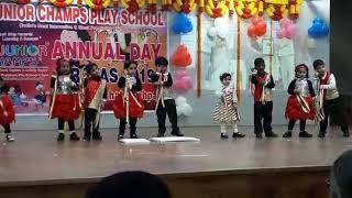 Phir bhi Dil hai Hindustani dance performance by little Arham