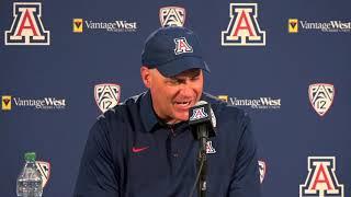 Arizona Football Press Conference [1/3]