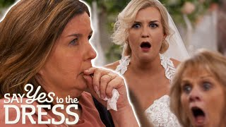 Mum LIES About Liking Her Daughter's Wedding Dress | Say Yes To The Dress Lancashire