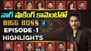 Bigg Boss 3 Telugu Contestants Episode 1 Highlights- Nagar..