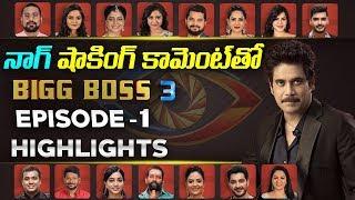 Bigg Boss 3 Telugu Contestants Episode 1 Highlights- Nagar..