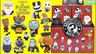 Tim Burton's Nightmare Before Christmas Mystery Minis Funko Pop with Jack Skellington