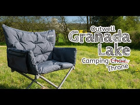 video Outwell Grenada Lake Camping Chair (Throne!)