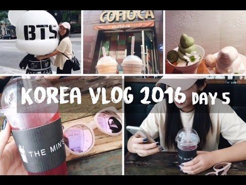 SEOUL, KOREA VLOG 2016 | Changmin's Cafe, Cofioca, Gangnam Adventures!!