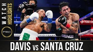 Davis vs Santa Cruz HIGHLIGHTS: October 31, 2020 | PBC on SHOWTIME PPV