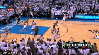 Spurs vs Thunder: Game 6 Highlights 2014 Western Conference Finals