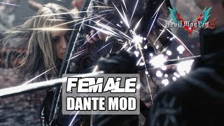 Female Dante Mod - Devil May Cry 5 [Steam Full HD][1080p 60fps]