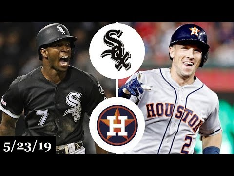Chicago White Sox vs Houston Astros - Full Game Highlights | May 23, 2019 | 2019 MLB Season