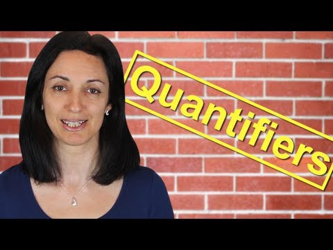 Quantifiers | Much or Many? - Few or Little? | English Lesson - Anglo-Link  - UOnJADStd8g -