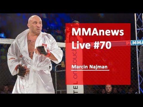 MMAnews Live #70: Marcin Najman na żywo o 10:00